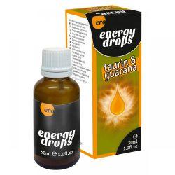 Kvapky ERO ENERGY DROPS TAURÍN GUARANA 30 ml
