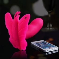 Vibračné Motýlik LYDIA I, ovládanie- Smartphone APP