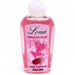 Lona intímne lubrikant orálny s príchuťou maliny 130ml