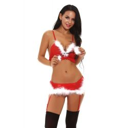 Vianočné sexy prádlo Lucia