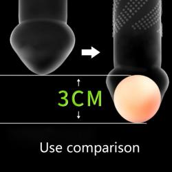 Erekčné gulička na predĺženie penisu priemer 3cm