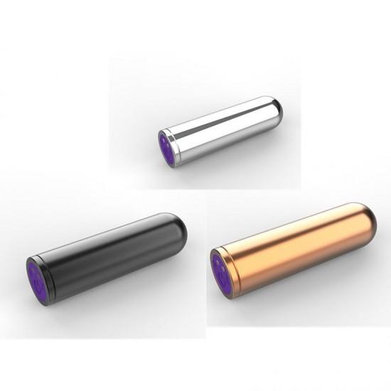 Magický bullet vibrator pre ženy s LED svetielkom