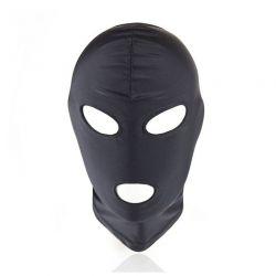 Maska čierna s otvorom na oči a ústa