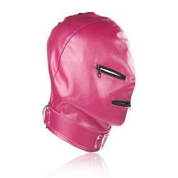 Maska na tvár Devil s očami a ústami na Zip