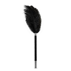 Dráždidlo perové Blush NOIR SOFT feather tickler black