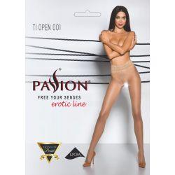 Pančucháče Passion TI Open 001 erotic line