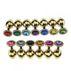 Kolík análny JEWELLERY PLUG Jewellery in Gold