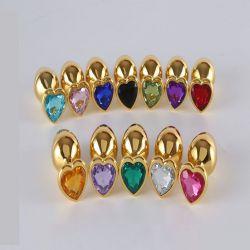Kolík análny HEART Jewellery plug Jewellery in Gold